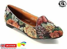 Canvas Casual Floral Ballet Flats for Women