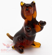 Art Blown Glass Figurine of the Australian Terrier