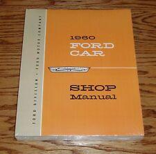 1960 Ford Car Shop Service Manual 60