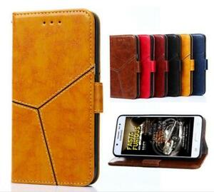 Vintage Style PU Leather Flip Cover Skin Case Stand For Cubot X18 Plus
