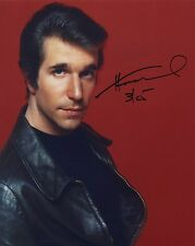 HENRY WINKLER SIGNED AUTOGRAPHED COLOR PHOTO FONZIE HAPPY DAYS