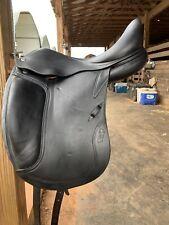 2016 Cwd monoflap dressage saddle 17.5� M tree full buffalo