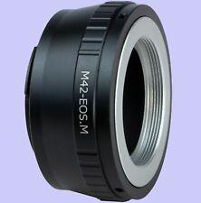 M42 Screw Mount Lens to Canon EOS M EF-M camera EOS M50,M200,M100,M5,M6, M10, M3