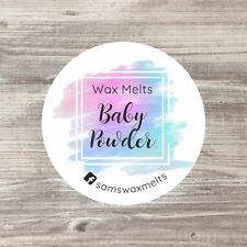 35 x Personalised Stickers, Soy Candle Stickers, Wax Melt Stickers, Wax Candles