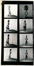 Planche contact Art Africain Asie Tribal Statue Masque - A.C. 6