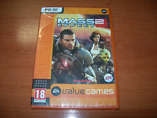 MASS EFFECT 2 PC VALUE GAMES (EDICIÓN ESPAÑOLA PRECINTADO)
