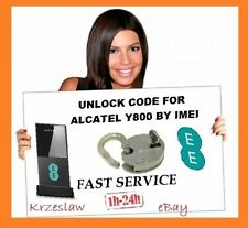 Unlock Code for ALCATEL L800 Y800 Y580 & Y901 4G LTE Modem by IMEI Fast service