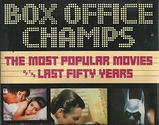 BOX OFFICE CHAMPS Most Popular Movies 1939-89 Eddie Dorman Kay 1990 HC DJ