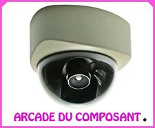 CAMERA DOME ANTIVANDALE FACTICE POUR INTERIEURE (ref 85463-1)