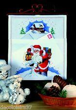 Permin Kit Broderie Point de Croix Compté Pochette La Lettre au Père Noël