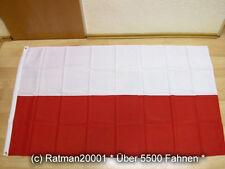 Fahnen Flagge Polen ohne Wappen - 90 x 150 cm