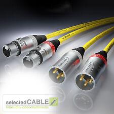 SOMMER CABLE EPILOGUE XLR Neutrik EMC Spezial NF-/ Phonokabel 2 x 1m | EPB1-0100