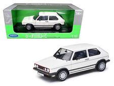 WELLY 1:18 1983 VOLKSWAGEN GOLF 1 GTI Diecast Car Model White 18039W-WH