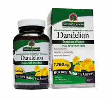 Dandelion Root, 90 Capsules, Full Spectrum Herb - Natures Answer