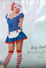 Leg Avenue - Adult Women's Rag Doll - Raggedy Ann