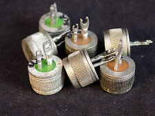GENERAL ELECTRIC SCR button type resistance thyristor set of 8 various