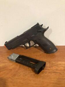 Sig Sauer Gas Airsoft Pistol For Parts Gun Working Problem Read Description Used