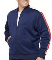 The Foundry Big & Tall Supply Co Midweight Track Jacket 4XLT NWT