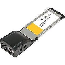 EC1394B2 2 Port ExpressCard FireWire Adapter Card StarTech