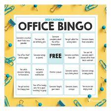 2021 Office Bingo Mini Calendar