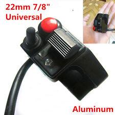 7/8'' Aluminum Motorcycle Push Button Headlight Horn Winker Turn Signal Switch