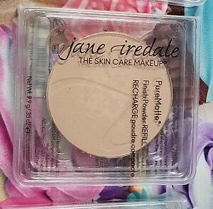 New Jane Iredale Pure Matte Finish Powder Refill Recharge .35oz