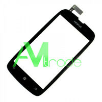 touchscreen per Nokia Lumia 610 nero black touch screen no frame schermo vetro