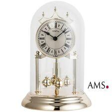 Ams 1203 Orologio da tavolo con pendolo rotante Drehpendeluhr ottone Ottica