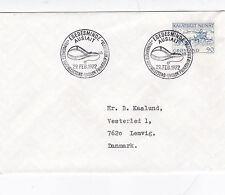 Greenland 1972 Mail Dog Sledge FDC Egedesminde CDS VGC