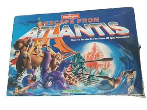 Escape from atlantis board game