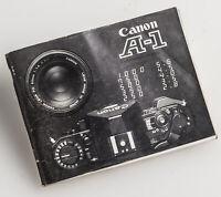 Bedienungsanleitung Canon A-1 A1 A 1 Anleitung
