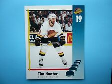 1994/95 VANCOUVER CANUCKS TEAM ISSUED NHL HOCKEY PHOTO TIM HUNTER SHARP!!