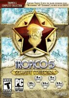 Tropico 5 Complete Collection - PC Game - New Sealed City Sim