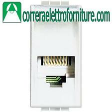 BTICINO LIVINGLIGHT bianco connettore RJ12 K10 N4258/11N
