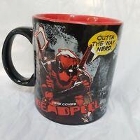 """Outta the way, Nerd""  Deadpool Mug 20 oz  Here Comes Deadpool"