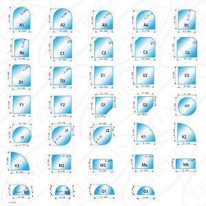 Plaque de Protection contre les Etincelles & Kaminbodenplatte Glas Cheminée &