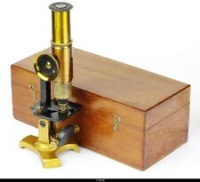 Brass Microscope Without  Name