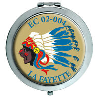 "Escadron de Chasse 02-004 ""La Fayette"" (French Air Force) Compact Mirror"