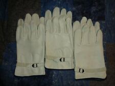 3 Pair Global Glove Cow Grain Leather Durable Pull Strap Work Driving Gloves Xl