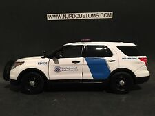 U.S Customs and Border Patrol 1:24 Scale Ford Explorer Police SUV