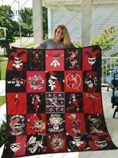 Harley Quinn Quilt Blanket For Fans Quilt Blanket, Fleece Blanket