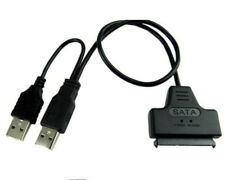"SATA 7+15 Pin 22Pin to USB 2.0 Cable Adapter For 2.5"" Laptop Hard Drive Disk HDD"