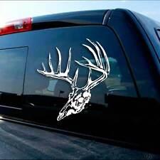 Timber Skull Deer Sticker - Hunting Decal