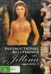 Belly dance DVD Instructional Bellydance with Jillina - Level 03 - REGION 4 AUST