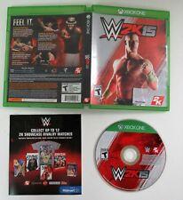 WWE 2K15 - Microsoft Xbox One Game Very Good Condition! Wrestling   John Cena