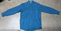 LL Bean Men's Large Tall Traditional Fit Long Sleeve Plaid Button Down Shirt
