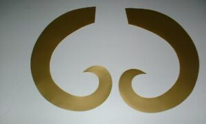 ST.LOUIS RAMS FULL SIZE FOOTBALL DECALS