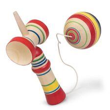 Kendama-diversión clásica de Madera Tradicional juguete para niños colorido