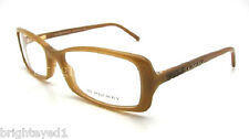Authentic BURBERRY Brown Rx Eyeglass Frame BE 2014B - 3046 *NEW*