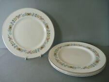 "Royal Doulton Pastorale - 4 Dinner Plates - 10.5"" or 27 cm diameter"